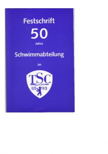 TSC_Aktuell_Nr_107a_Festschrift_50 Jahre Schwimmabteilung