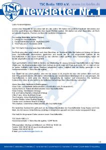 TSC_Newsletter01